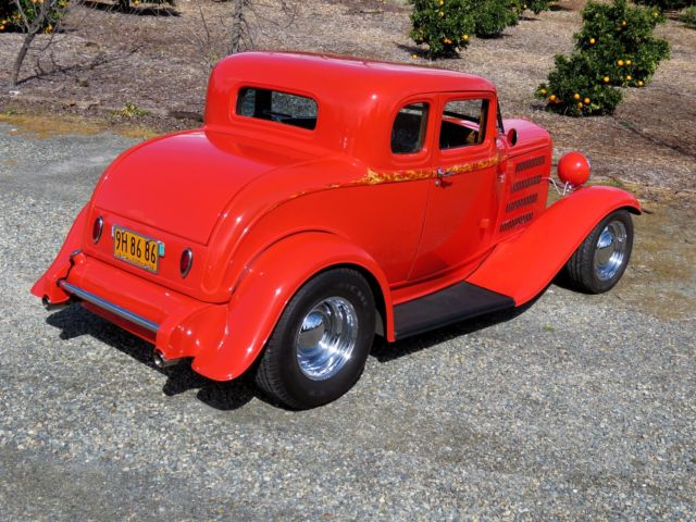 1932 ford 5 window coupe 302 c4 air conditioning for 1932 ford 5 window coupe for sale