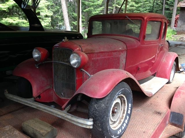 1932 ford 5 window coupe all original steel barn find for 1932 ford 5 window coupe steel body for sale