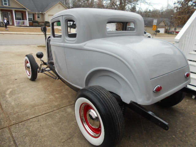 1932 ford five window coupe new fiberglass body street for 1932 ford 5 window coupe steel body kits