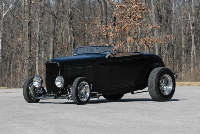 1932 Ford Highboy Roadster Kaenan Fiberglass Body Adams Chassis