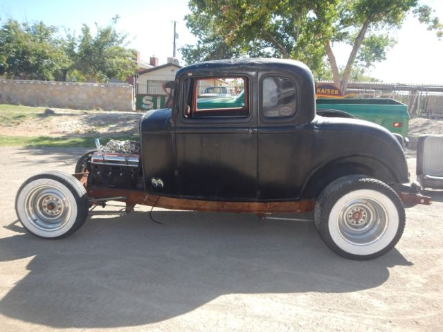 1932 ford steel 5 window coupe old hot rod project car for 1932 ford five window coupe project for sale
