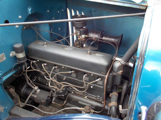 1933 Chevrolet Pickup Truck Blue Good Tires Wood Bed Floor