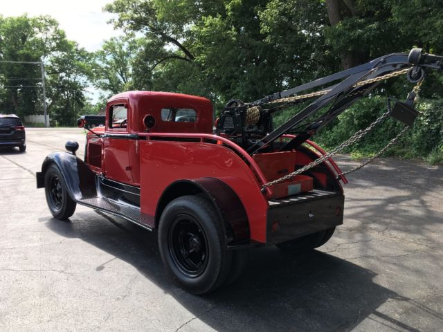 1933 dodge model h 44 2 ton wrecker tow truck for sale dodge g90 1933 for sale in la porte. Black Bedroom Furniture Sets. Home Design Ideas