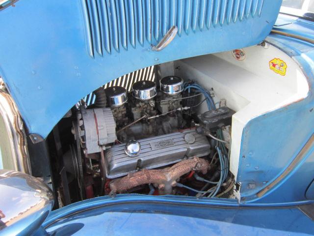 1933 Ford 3 window Coupe 60's True Hot Rod scta 3w 33 34