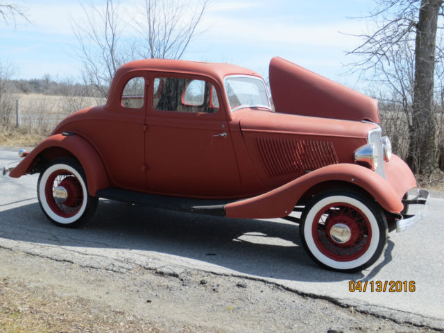 1933 Ford 5w Coupe Project Car 1932 1940 1934 Hot Rod For