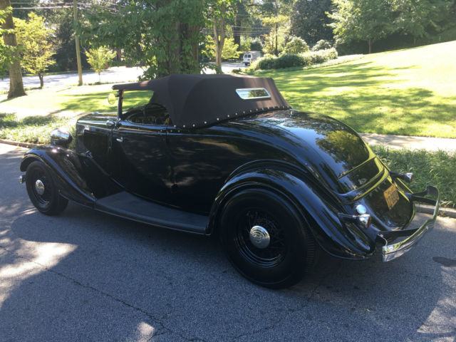 1933 Ford Roadster Henry Steel Brizio Like New For
