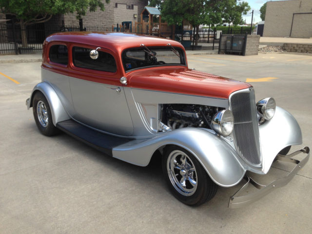1933 FORD TUDOR VICKY CUSTOM FUEL INJECTED HOT ROD for sale