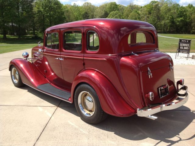 1934 Chevrolet Town Sedan Streetrod AC PS Reduced for sale