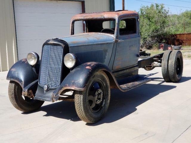 1934 Dodge Brothers Truck Ratrod Rare Cummins Hemi Barn