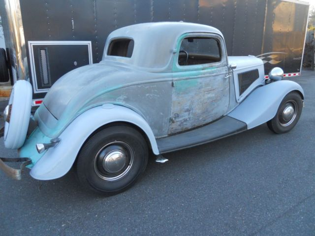 1934 ford 3 window coupe all steel barn find sleeper hot for 1934 ford three window coupe for sale
