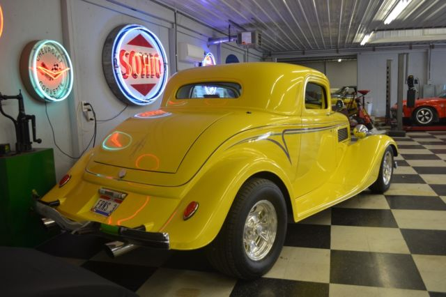 1934 ford 3 window coupe hot rod street beast body 350 for 1934 ford 3 window coupe body for sale
