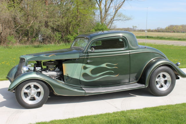 1934 ford 3 window coupe street rod custom for sale ford for 1934 ford 5 window coupe street rod