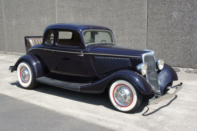 1934 ford 5w coupe survivor flathead v 8 3 spd for 1934 5 window coupe for sale