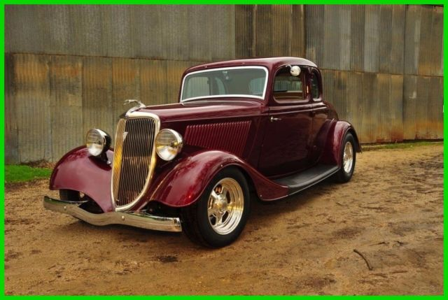 1934 ford all steel 5 window coupe used automatic rwd for 1934 ford five window coupe for sale