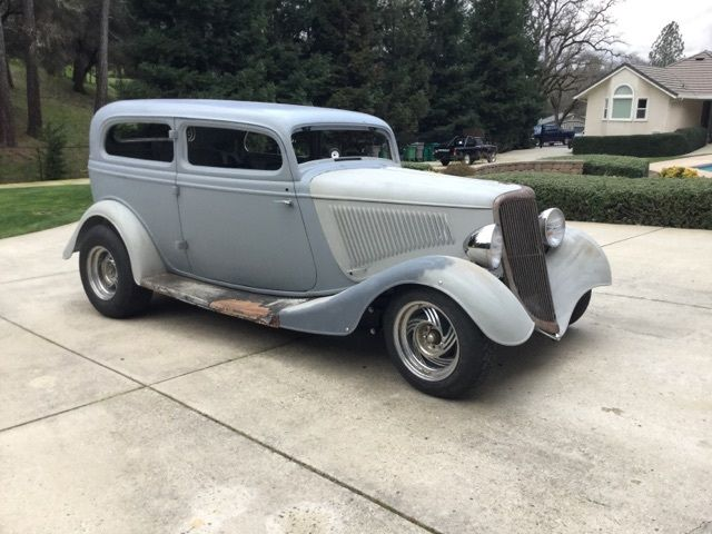 1934 ford steel tudor sedan two door coupe for sale ford for 1934 ford two door sedan