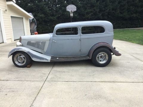1934 Ford Steel Tudor Sedan Two Door Coupe For Sale Ford