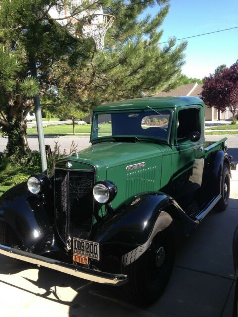 1934 International C1 Pickup Truck Fully Restored For Sale