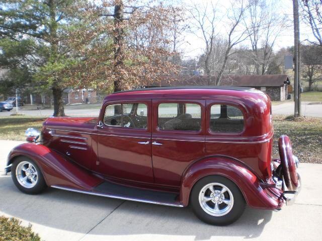 1934 master cheverolet 4 door sedan all steel zz4