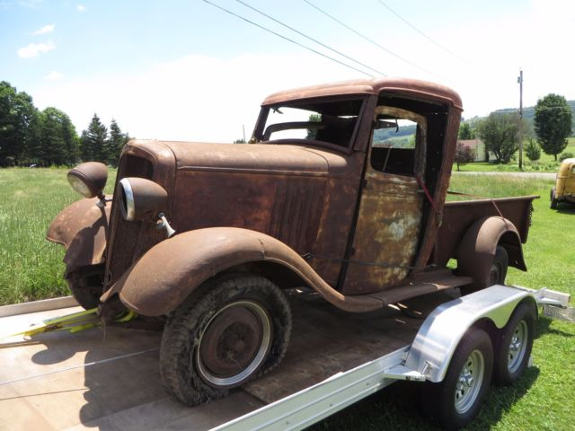 1934 vintage 1 2 ton chevrolet pick up truck for sale chevrolet other pickups 1934 for sale in. Black Bedroom Furniture Sets. Home Design Ideas