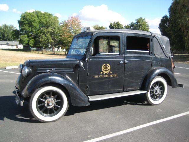 1935 austin 12 4 londen taxi low loader hot rod for sale austin london taxi low loader taxi. Black Bedroom Furniture Sets. Home Design Ideas