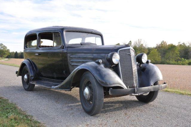 1935 chevrolet 2 door standard sedan running driving barn for 1935 chevrolet 4 door sedan