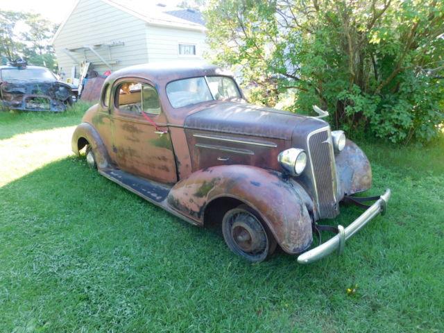 1935 Chevrolet Master, 5 window coupe, suicide doors, RARE