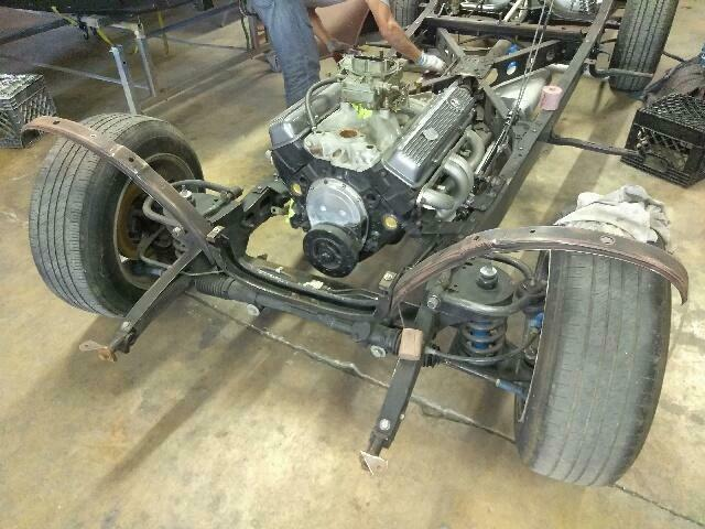 1935 Chevy 5 Window Coup - partially ready for restoration
