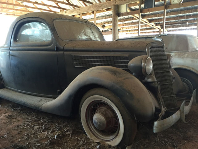1935 ford 3 window coupe barn find for sale ford other for 1935 ford 5 window coupe for sale