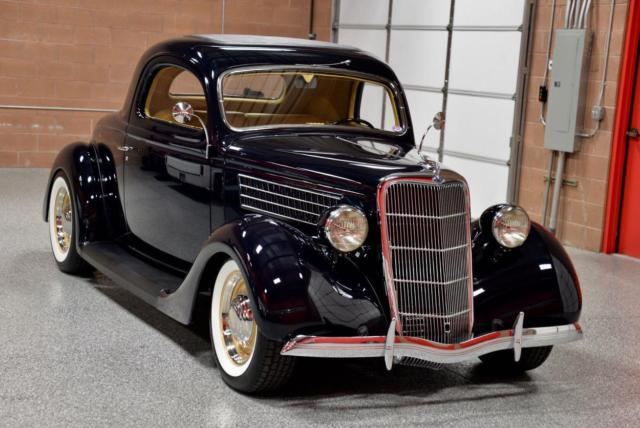 1935 ford 3 window coupe fresh concours rotisserie build for 1935 3 window coupe