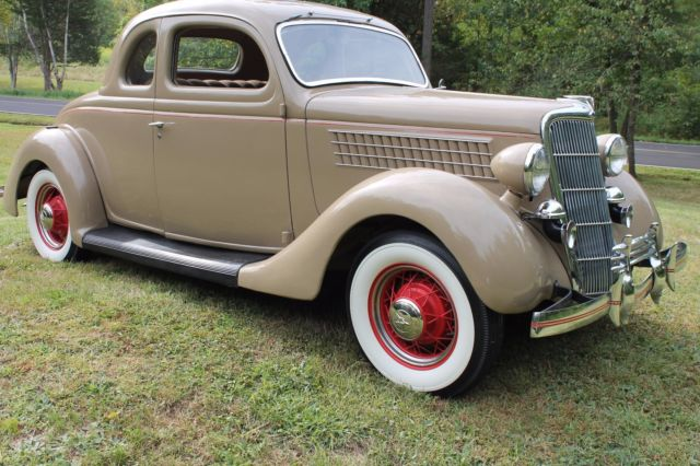 1935 ford five window rumble seat coupe in beautifully for 1935 ford 5 window coupe for sale