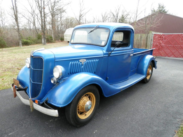 1935 ford original pickup custom classic hot rod show street rod no rat driver for sale ford. Black Bedroom Furniture Sets. Home Design Ideas