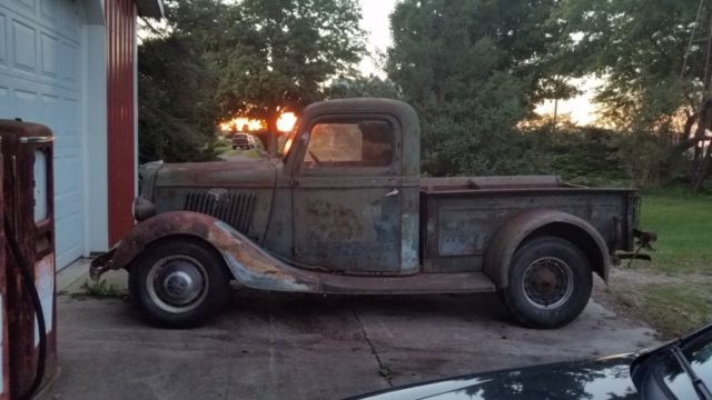 1935 ford pickup truck 35 flathead barn find near me for sale ford other pickups 1935 for sale. Black Bedroom Furniture Sets. Home Design Ideas