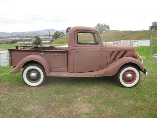 1935 ford pickup dash pictures to pin on pinterest