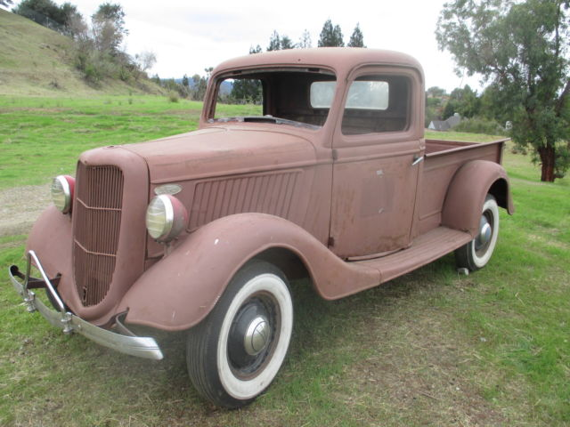 1935 ford pickup truck flathead 1936 1937 for sale ford other pickups 1935 for sale in. Black Bedroom Furniture Sets. Home Design Ideas