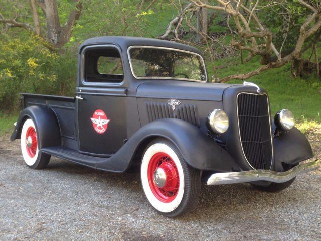1935 ford pickup truck hot rot rat for sale ford other pickups 1935 for sale in belmont. Black Bedroom Furniture Sets. Home Design Ideas