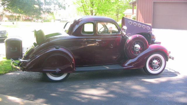 1935 Plymouth Deluxe Rumble Seat Coupe For Sale Plymouth