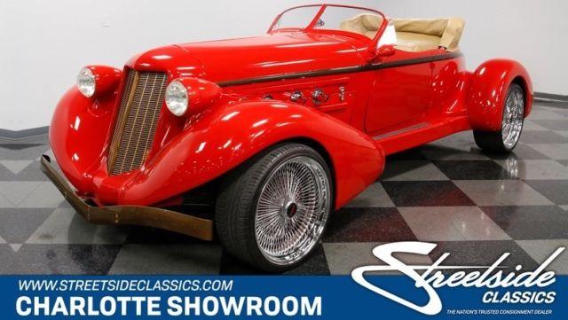 1936 Auburn Boattail Convertible 351 Windsor V8 3 Speed