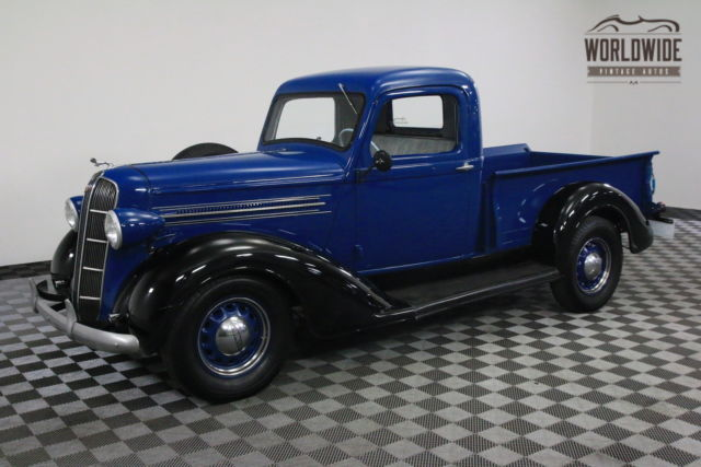 1936 blue dodge brothers pickup 1 2 ton very rare for. Black Bedroom Furniture Sets. Home Design Ideas