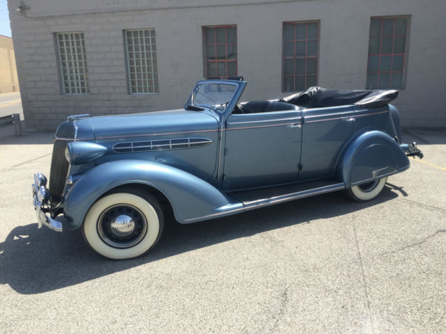 1936 chrysler c 6 4 door convertible rare car buick chevy pontiac oldsmobile for sale chrysler. Black Bedroom Furniture Sets. Home Design Ideas