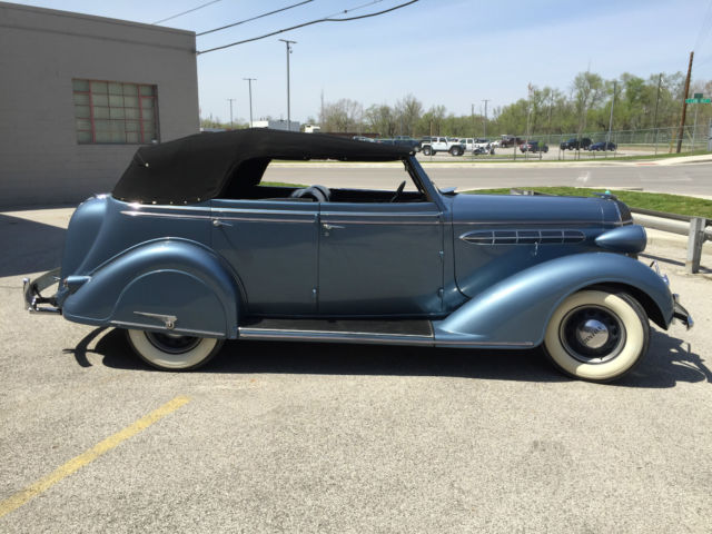 1936 chrysler c 6 4 door convertible rare car buick chevy for 1936 buick 4 door sedan