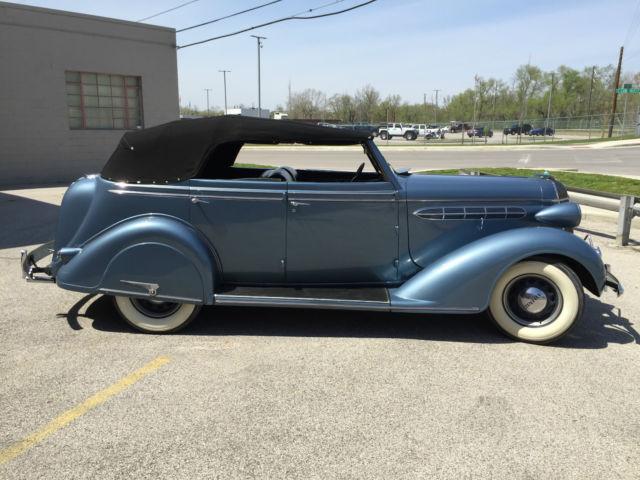 1936 chrysler c 6 4 door convertible rare car buick chevy for 1936 chevy 4 door sedan