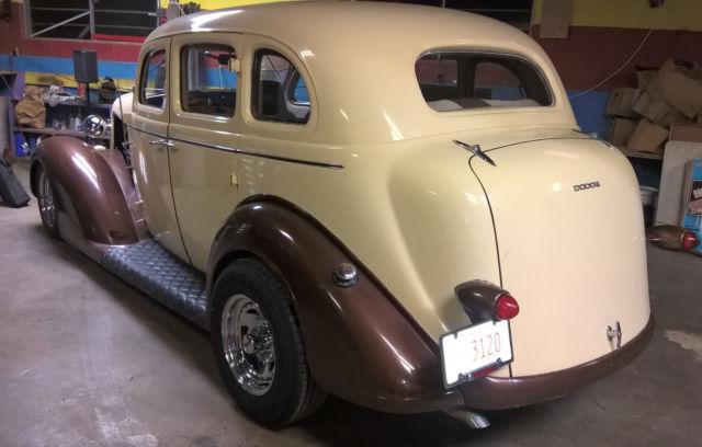 1936 Dodge 4 Door Sedan Street Rod For Sale
