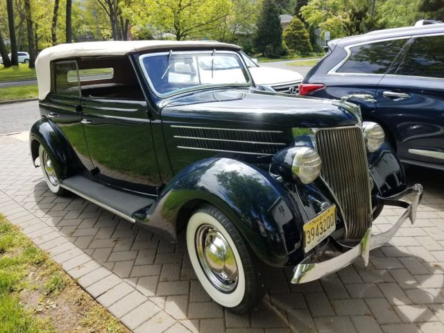 1936 ford 4 door convertible right hand drive for sale