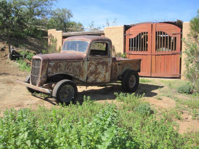 1936 ford pickup rat rod 1935 1937 for sale
