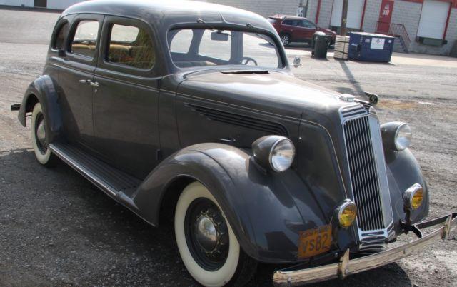 1936 Nash Lafayette 42 500 Original Miles For Sale Nash Lafayette 1936 For Sale In Carlisle