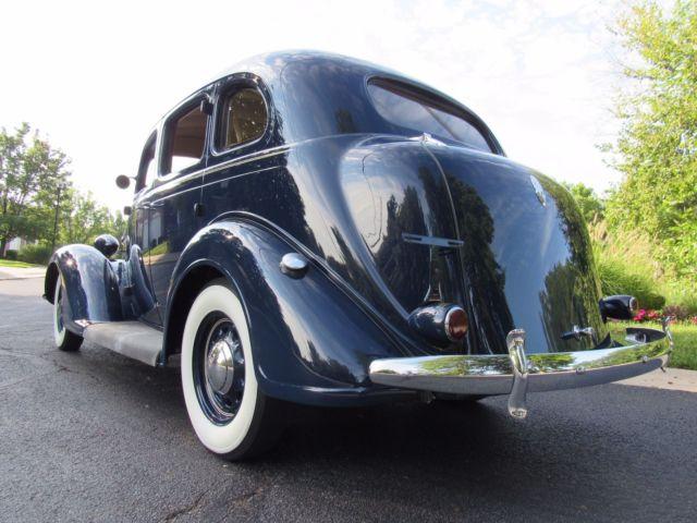 1936 plymouth deluxe kissing door floor shift restored for Schroeder motors st charles