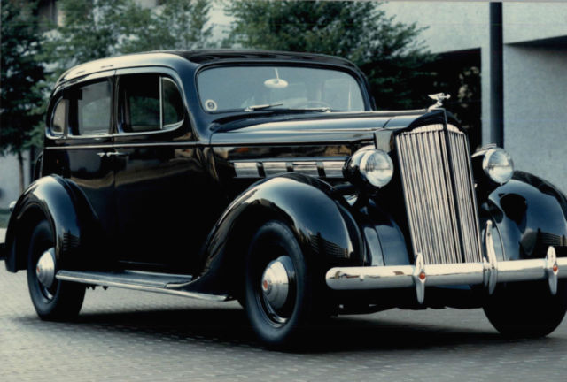 Transmission Fluid Color >> 1937 Black Packard 120 with a 282 Straight Eight engine ...