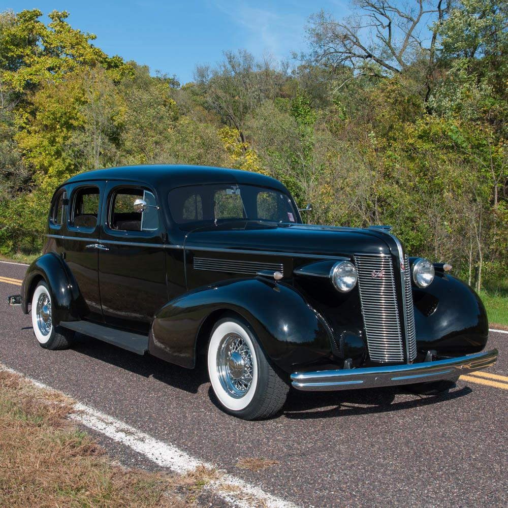 Cars For Sale Buick: 1937 Buick Special Trunkback Sedan Restomod For Sale