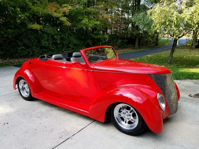 1937 Ford Convertible Street Rod For Sale Ford Other