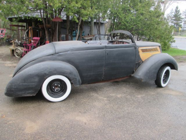 Ford Explorer Buyers Guide >> 1937 Ford custom roadster project car chop top ratrod body all steel for sale - Ford roadster ...